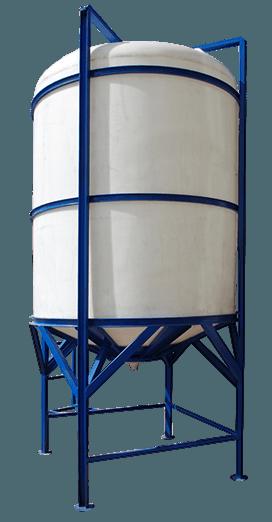 Polietilen Silo Tanklar (Konik Boşaltım)